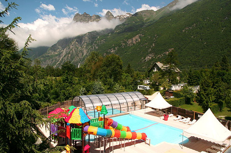 Camping france 5 stars rh ne alpes alpe d huez - Camping la piscine bourg d oisans ...